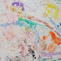 Le dessin colère exprimé par un enfant de 4 ans au service IHO du CHU