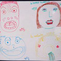Expression des émotions en lien avec les protocoles de soin.